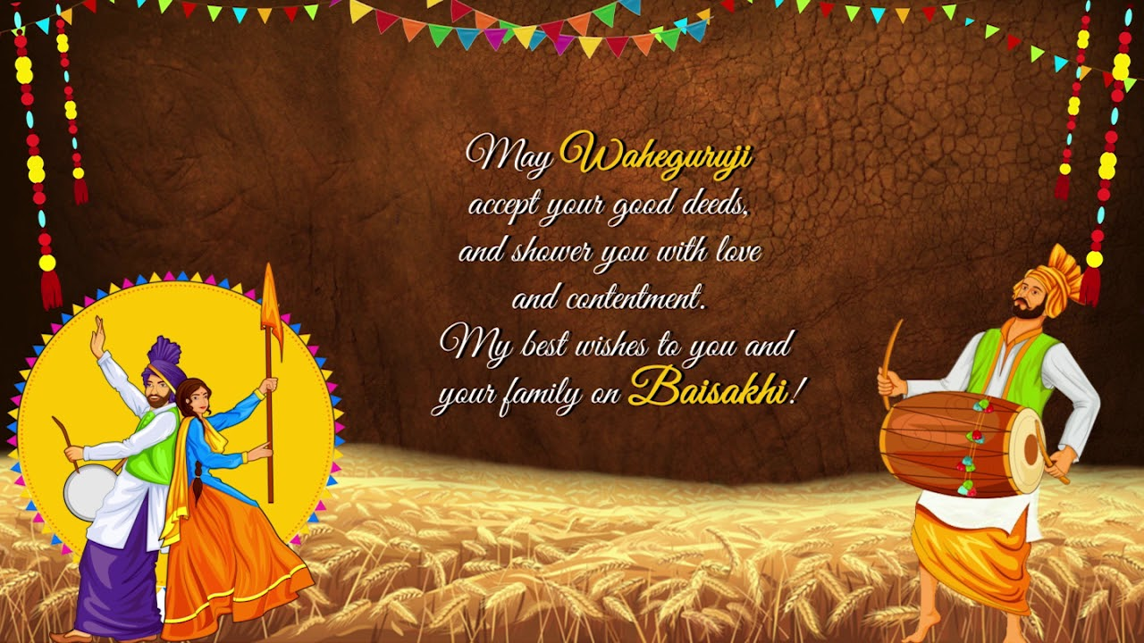 Baisakhi 2020 Wishes & Messages