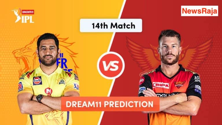 CSK vs SRH 14th Match