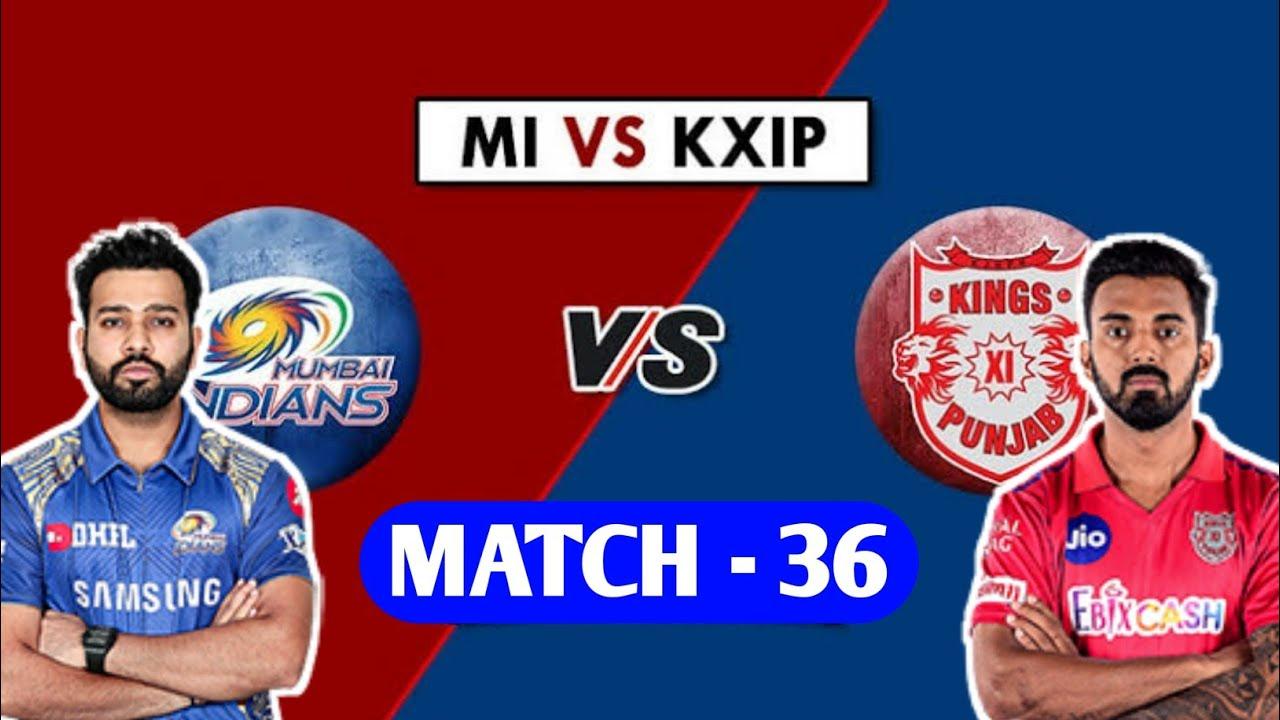 MI vs KXIP Dream11 Team Prediction