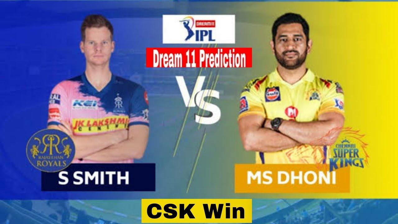 CSK vs RR Dream11, Chennai Super Kings vs Rajasthan Royals Dream11