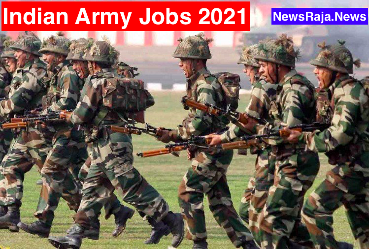 Latest Indian Army Bharti 2021