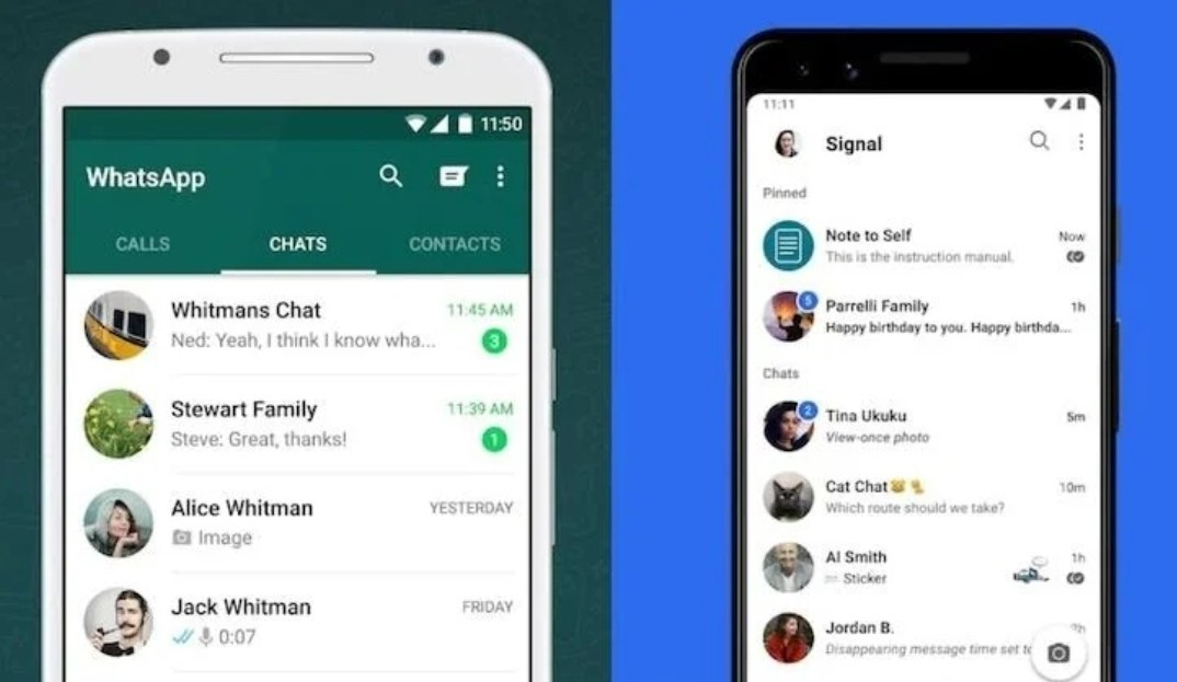 Move WhatsApp Chats To Signal App